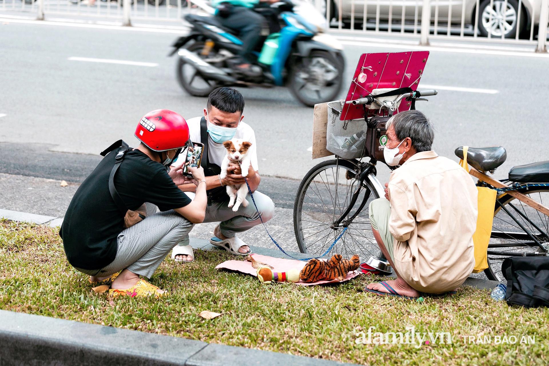Cụ ông câm điếc cưu mang chú chó nhỏ, thà rong ruổi bán từng tờ vé số chứ không nhận 70 triệu khi người Sài Gòn dang tay giúp đỡ  - Ảnh 9.