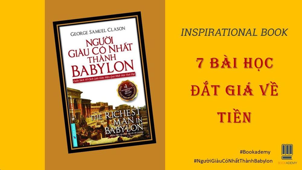 Người giàu có nhất thành Babylon: 7 bài học đắt giá về tiền