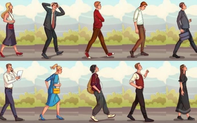Tâm lý học: Dáng đi của một người sẽ bộc lộ tính cách của người đó, không thể sai