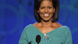 Chất Michelle - Bà Obama không dùng máy nhắc chữ khi vận động tranh cử cho chồng