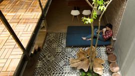 Căn nhà 46 m2 độc đáo trong ngõ nhỏ Hà Nội