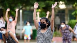 Đi bộ 6 phút phát hiện sớm tổn thương phổi ở người F0