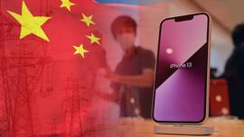 Các nhà cung cấp cho Apple ngừng sản xuất vì Trung Quốc hạn chế dùng điện, gây thiếu hụt iPhone 13