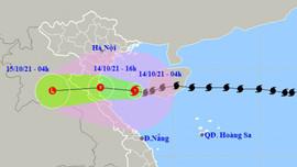 Bão số 8 suy yếu thành áp thấp nhiệt đới, cảnh báo mưa lớn tại Bắc Trung bộ